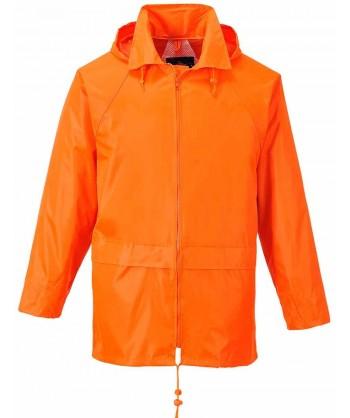 Chubasquero tipo ingeniero especial lluvia color naranja