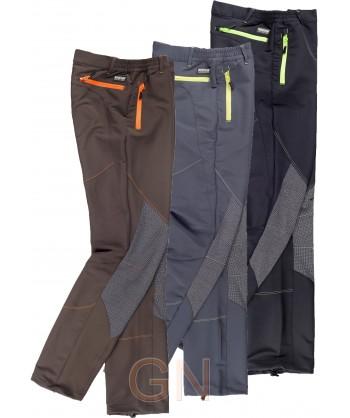 Pantalón sport multibolsillos bielástico con refuerzos