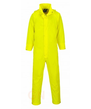 Buzo de poliuretano impermeable EN 343 amarillo
