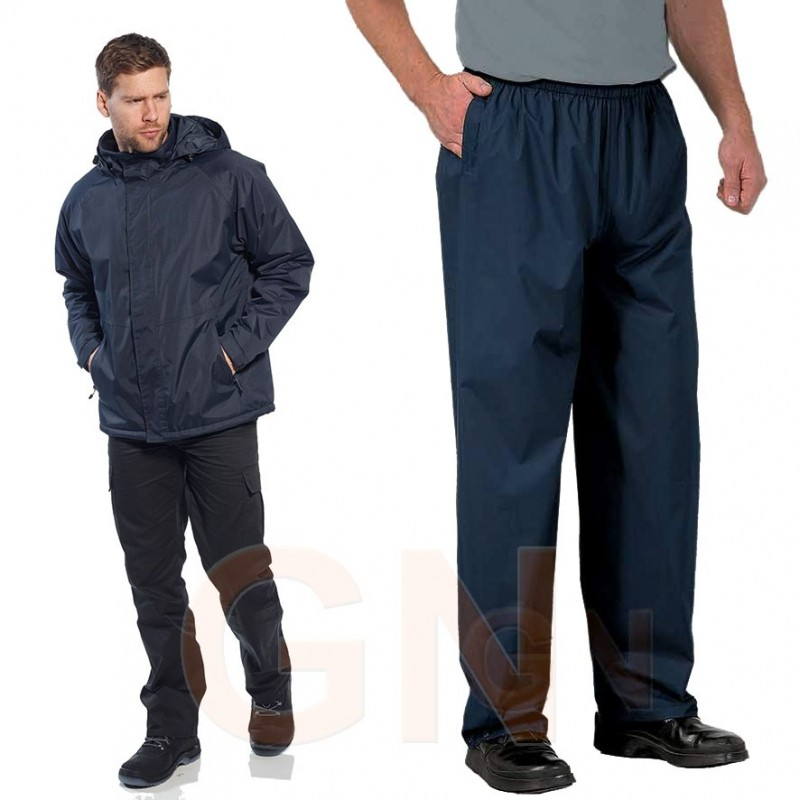 Pantalón con membrana impermeable y transpirable