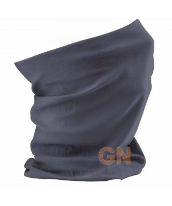 Buff o pañuelo multiusos gris carbón