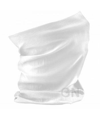 Buff o pañuelo multiusos blanco