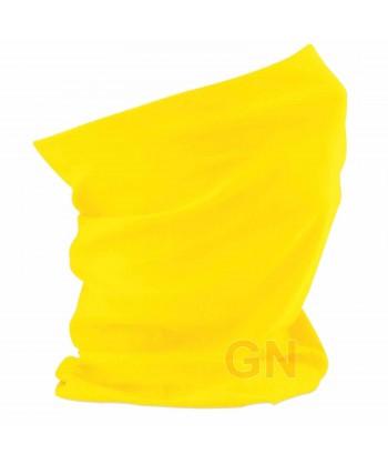 Buff o pañuelo multiusos amarillo