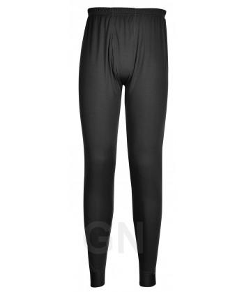 Pantalón técnico interior con tejido transpirable color negro