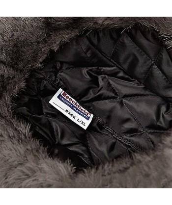 Interior del gorro tipo sherpa para frío intenso