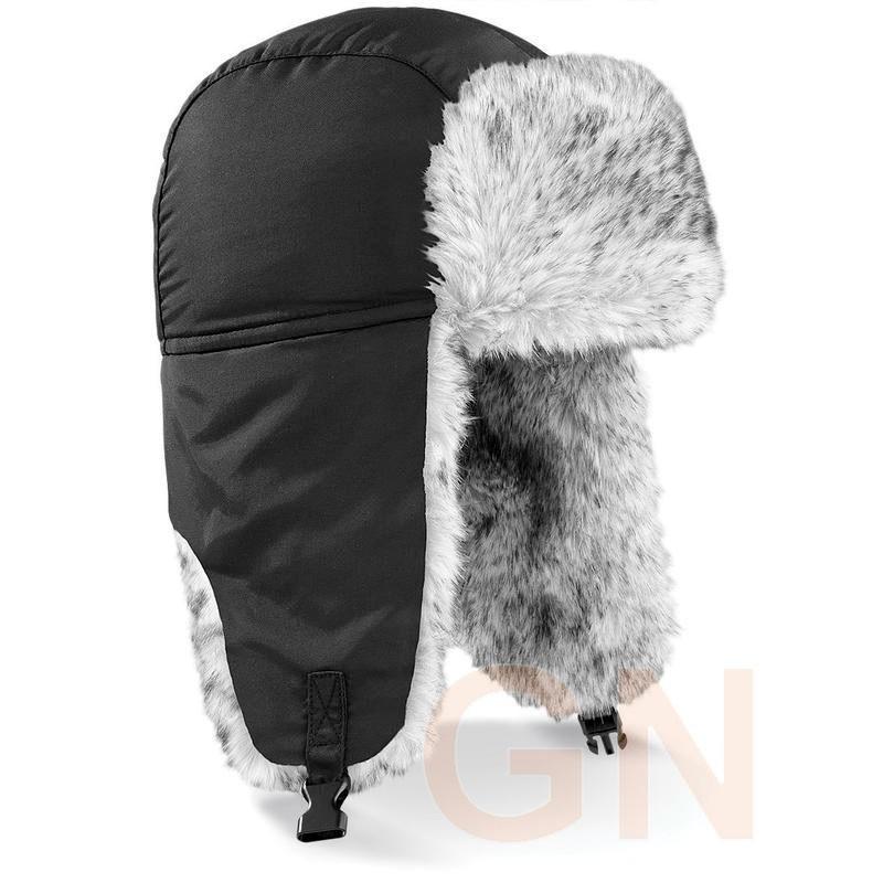 Gorro tipo sherpa para frío intenso