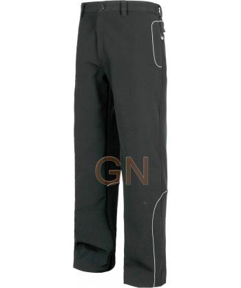 Pantalón softshell multibolsillos