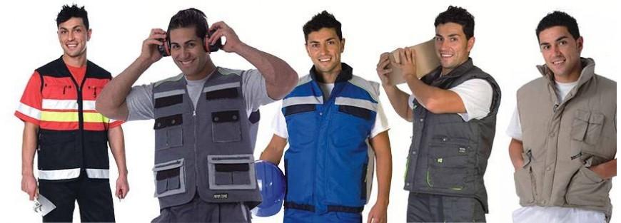 Chalecos acolchados para vestuario laboral con novedoso dieños