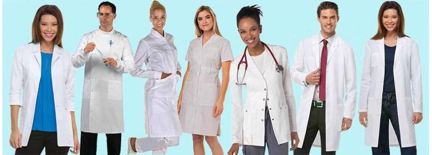 Batas diseñadas para personal sanitario con los tejidos más avanzados