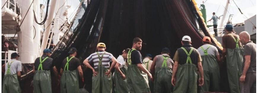 Pantalones para la pesca industrial e industrias relacionadas. Precios económicos y altas calidades