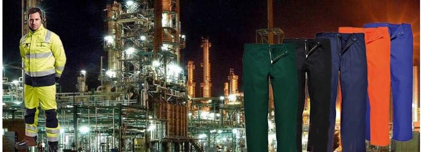 Pantalones y petos ignífugos con las homologaciones que exige la CE