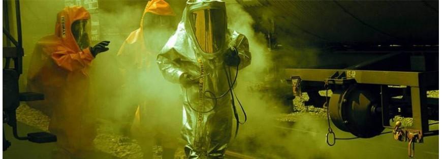 Vestuario de protección ante agentes químicos nocivos para la piel