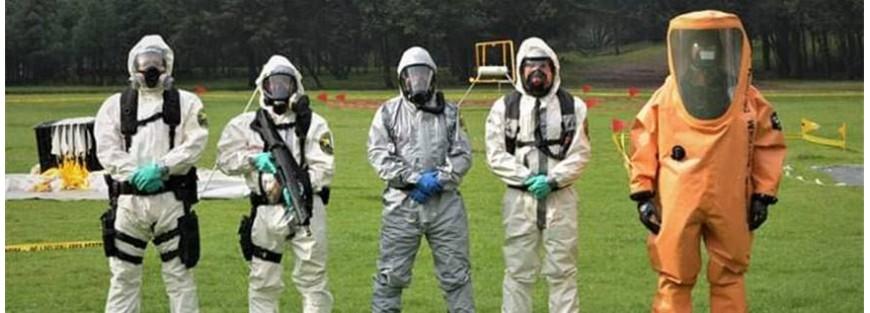 Buzos y Escafandras diseñados especialmente para la protección química