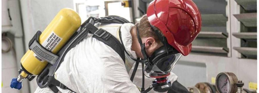 Equipos autónomos de respiración asistida (ERA) con botella y máscara