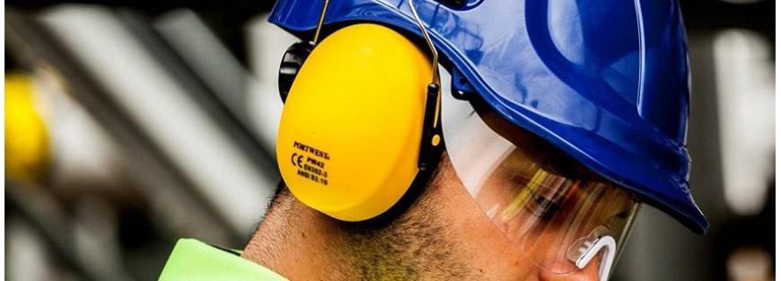 Tapones y orejeras para una completa protección auditiva