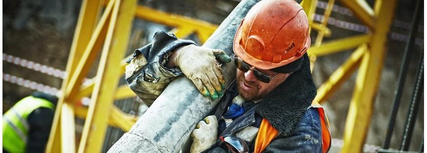 Cascos de seguridad para la protección de la cabeza del trabajador