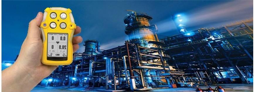 Detectores de gases peligrosos y niveles de oxígeno. Monogas o multiga
