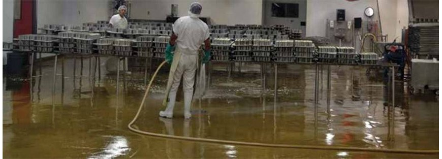 Alfombras con soluciones en el puesto de trabajo para áreas húmedas