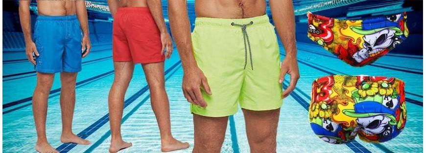 Bañadores para hombre con tejidos técnicos y los colores más actuales