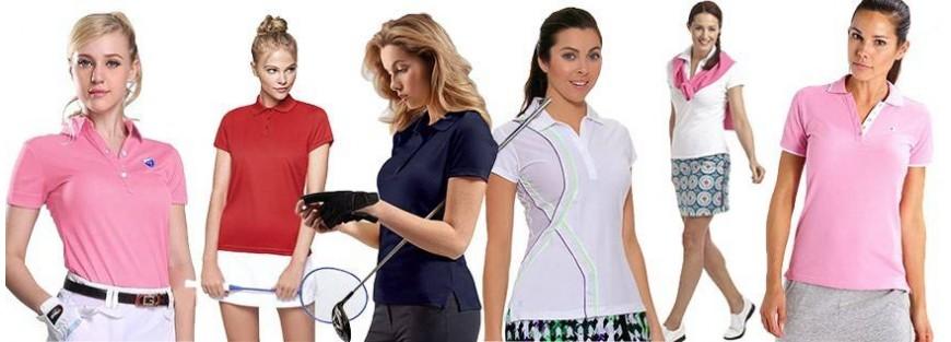 Polos técnicos para mujer para el deporte con los diseños más avanzados