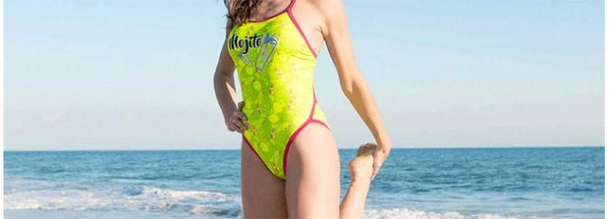 Bañadores de mujer para natación y waterpolo