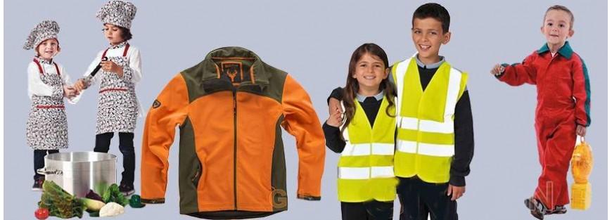Vestuario laboral para niños