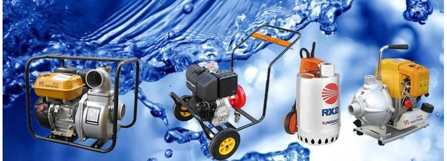 Venta online de bombas para trasvases de aguas limpias y sucias