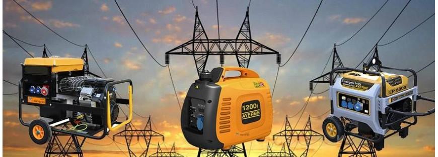 Generadores eléctricos a gasolina y diesel. Venta online | Navendi