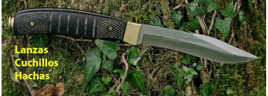 Cuchillos de caza,Navajas paa caza, Lanzas para caza,