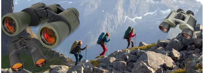 Prismáticos y binoculares para actividades outdoor