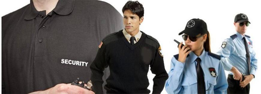 Polos, camisas, jerséis para vigilantes de seguridad
