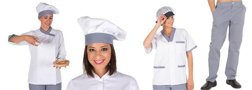 Conjunto clásico de vestuario para cocina de 8 artículos
