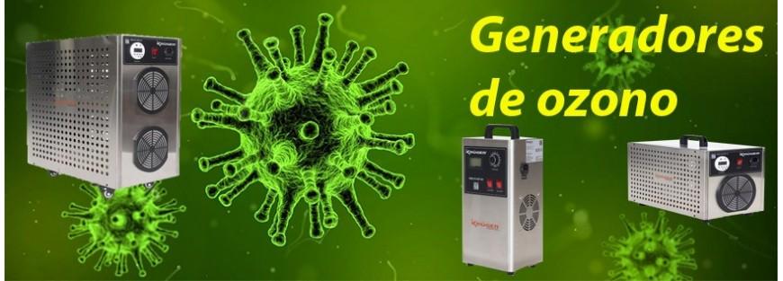 Generadores de ozono para desinfección e higienización | Navendi