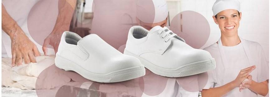Zapatos y zuecos de seguridad para alimentación y hostelería