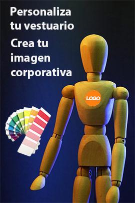 Personalize todo tu vestuario, aportando una diferente imagen corporativa